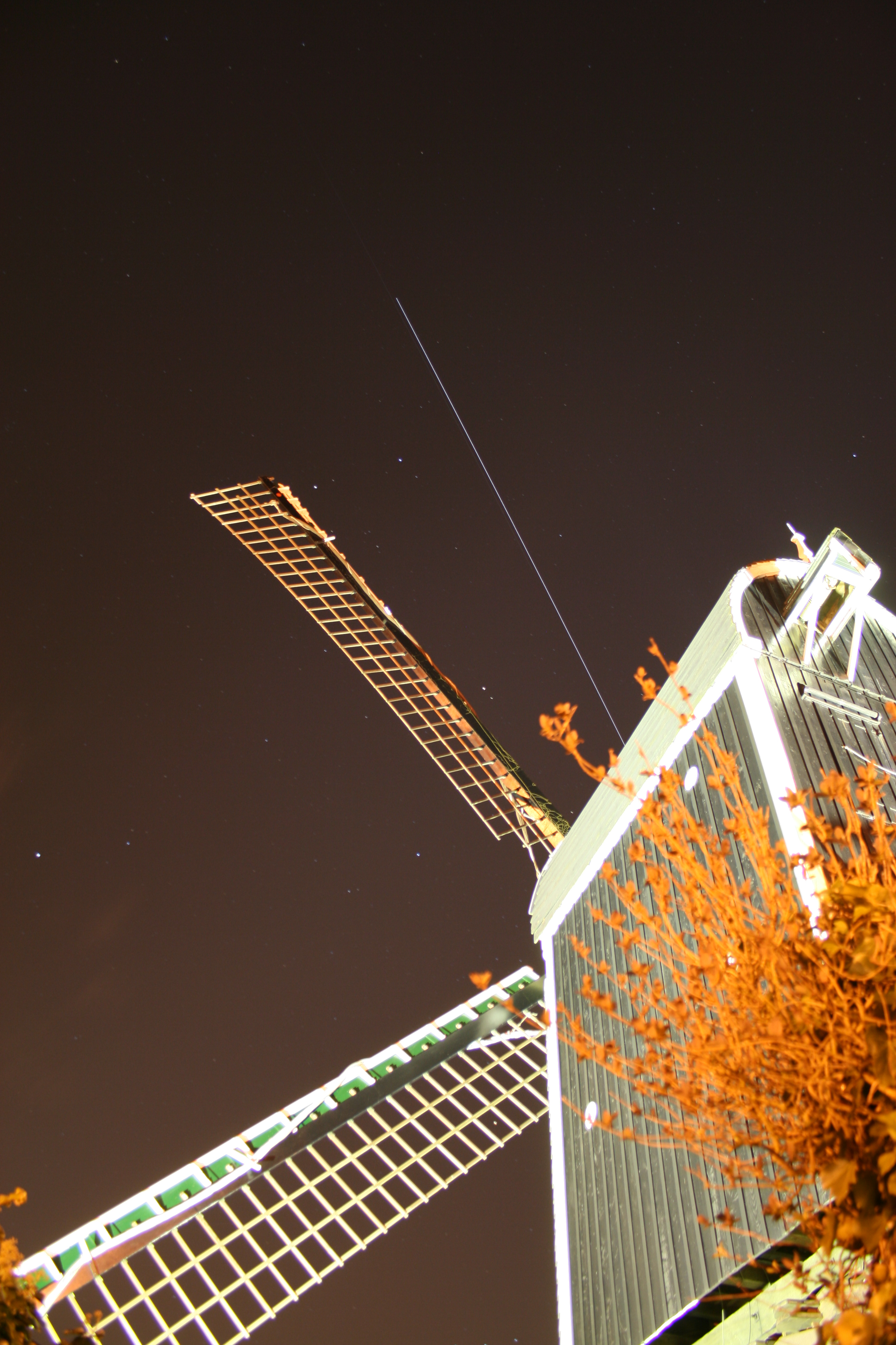 ISS and ATV pass over Leiden